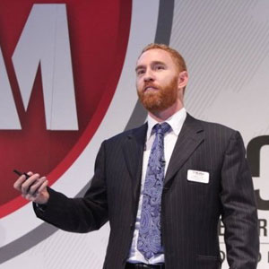 Simon Hunt, VP and CTO, Endpoint Security, McAfee