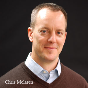 Chris Mclaren, VP-Marketing, Aimia ISS