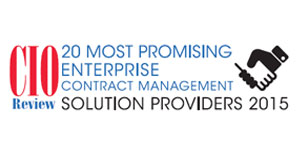 20 Most Promising Enterprise Contract Management Solution Providers 2015