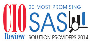 20 Most Promising SAS Solution Provider 2014