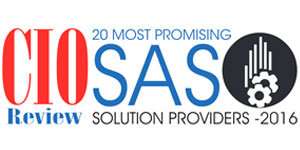 20 Most Promising SAS Solution Providers 2016