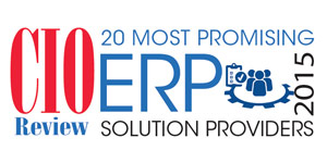 20 Most Promising ERP Solution Providers 2015