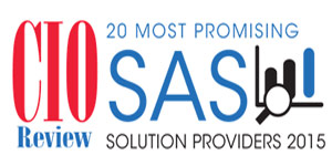 20 Most Promising SAS Solution Provider 2015