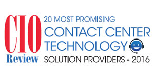 20 Most Promising Contact Center Technology Solution Providers 2016