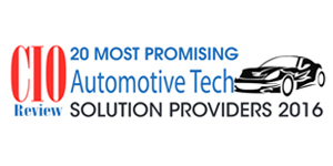 20 Most Promising Automotive Tech Solution Providers 2016