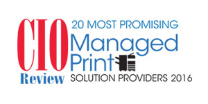 20 Most Promising Managed Print Solution Providers 2016