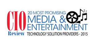 20 Most Promising Media and Entertainment Technology Solution Providers - 2015