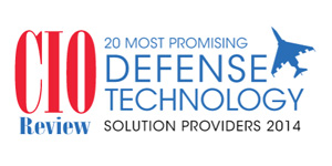 20 Most Promising Defense Technology Solution Providers - 2014