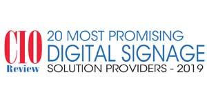 Top 20 Digital Signage Tech Companies - 2019