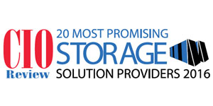 20 Most Promising Storage Solution Providers - 2016
