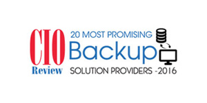 20 Most Promising Back Up Solution Providers - 2016