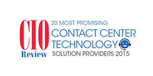20 most promising Contact Center Solution Providers - 2015