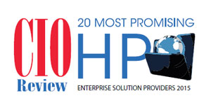 20 Most Promising HP Enterprise Solution Providers - 2015