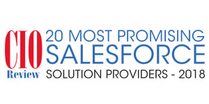 Top 20 Salesforce Solution Providers - 2018