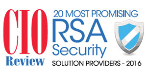 20 Most Promising RSA Security Solution Providers - 2016