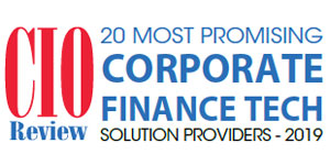 Top 20 Corporate Finance Technology Companies - 2019