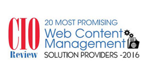20 Most Promising Web Content Management Solution Providers 2016