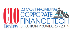 20 Most Promising Corporate Finance Tech Solution Providers - 2016