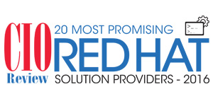 20 Most Promising Red Hat Solution Providers - 2016