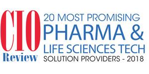 Top 20 Pharma and Life Sciences Tech Companies - 2018