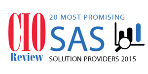 20 Most Promising SAS Solution Providers - 2015