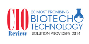 20 Most Promising Biotech Technology Solution Providers - 2014