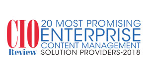 Top 20 Enterprise Content Management Tech Companies - 2018