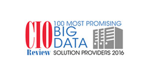 100 Most Promising Big Data Solution Providers - 2016