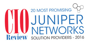 20 Most Promising Juniper Networks Solution Providers - 2016