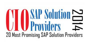 20 Most Promising SAP Solution Providers - 2014