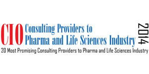 20 Most Promising Solution and Consulting providers to Pharma and Life Science - 2014