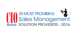 20 Most Promising Sales Management Solution Providers - 2016