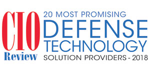 Top 20 Defense Technology Companies - 2018