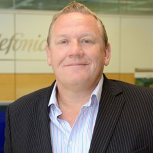 Phil Jordan, CIO, Telefonica