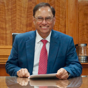 Moe Goswami, CEO and President, AINS