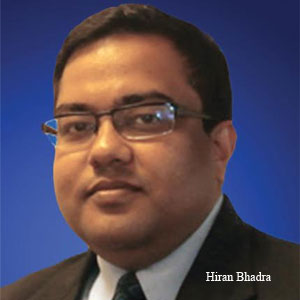 Hiran Bhadra, Principal, Advisory