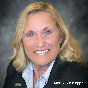 Cindy L. Skaruppa, VP for Enrollment Services, Cleveland State University