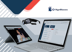 SignGlasses: Hassle-free Sign Language Interpretation and Captioning Services for Education