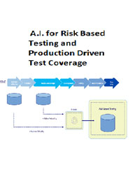 A.I. for Risk Based Testing and Production Driven Test Coverage