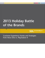 Xbox One vs. PlayStation 4: 2013 Holiday Battle of the Brands