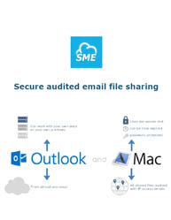 Secure Audited Email File Sharing