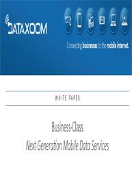 Business Class Next Generation Mobile Data Services