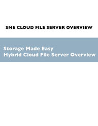 Hybrid Cloud Computing: Cloud File Server Overview