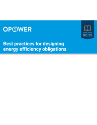 Best practices for Designing  Energy Efficiency Obligations