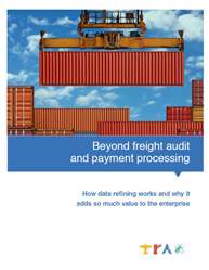 Beyond Freight Audit and Payment Processing
