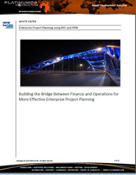 Building the Bridge Between Finance and Operations for More Effective Enterprise Project Planning