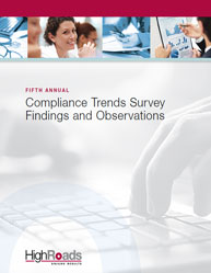 Compliance Trends Survey Findings and Observations
