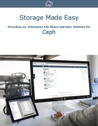 Control Access to Ceph Storage Platform Through EFFS Solution