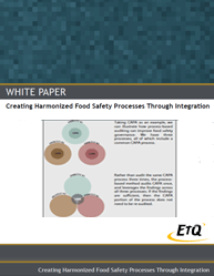Creating Harmonized Food Safety Processes Through Integration