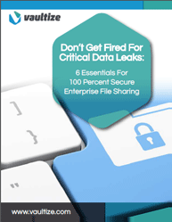 Do Not Get Fired For Critical Data Leaks: 6 Essentials For 100 Percent Secure Enterprise File Sharing